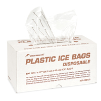 Pharmacels Disposable Plastic Ice Bags