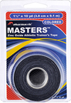 Masters Tape colored Black in retail package Pharmacels
