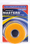 Masters Tape colored Gold in retail package Pharmacels