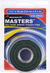 Masters Tape colored Green in retail package Pharmacels