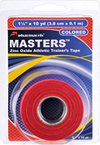 Masters Tape colored Red in retail package Pharmacels