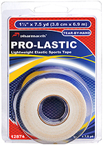PRO-LASTIC Tape White in retail package Pharmacels