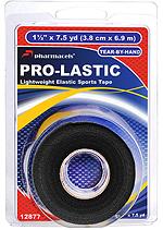 PRO-LASTIC Tape Black in retail package Pharmacels