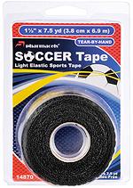 SOCCER Tape Black in retail package Pharmacels