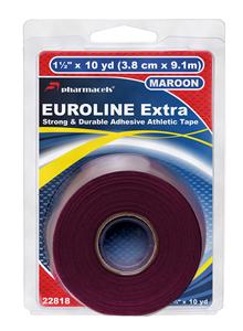 EUROLINE Extra Tape in retail package Pharmacels maroon